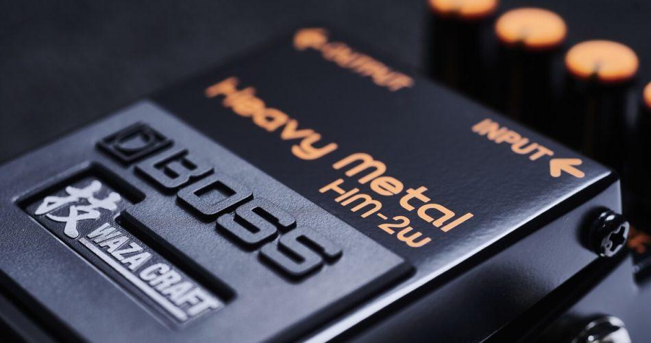BOSS HM 2w Heavy Metal