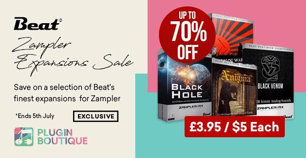 Beat Zampler Expansion Sale