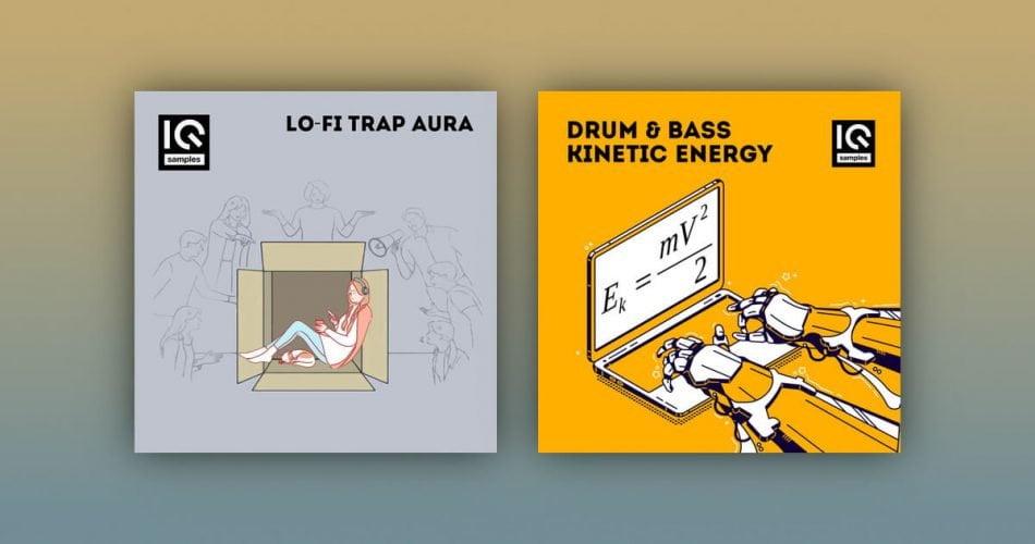 IQ Samples LoFi Trap Aura Drum Bass Kinetic Energy
