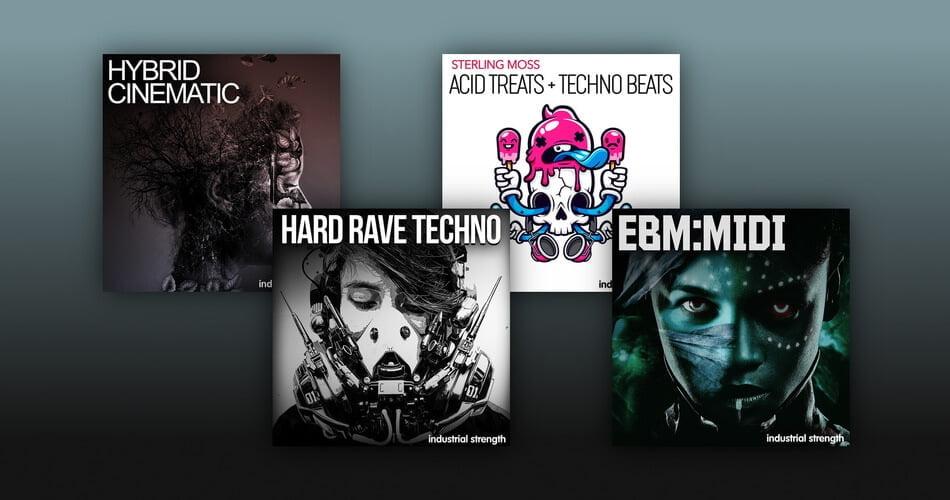 Industrial Strength EBM MIDI Acid Treats Techno Beats Hybrid Cinematic Hard Reave Techno