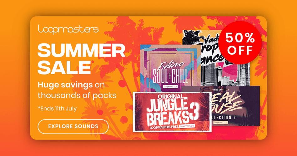 Loopmasters Summer Sale
