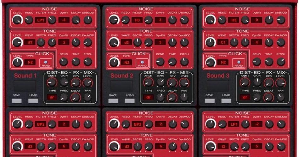 Momo Nord Drum 3P MIDI Editor