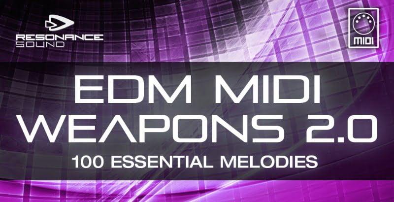 RS EDM MIDI Weapons 2