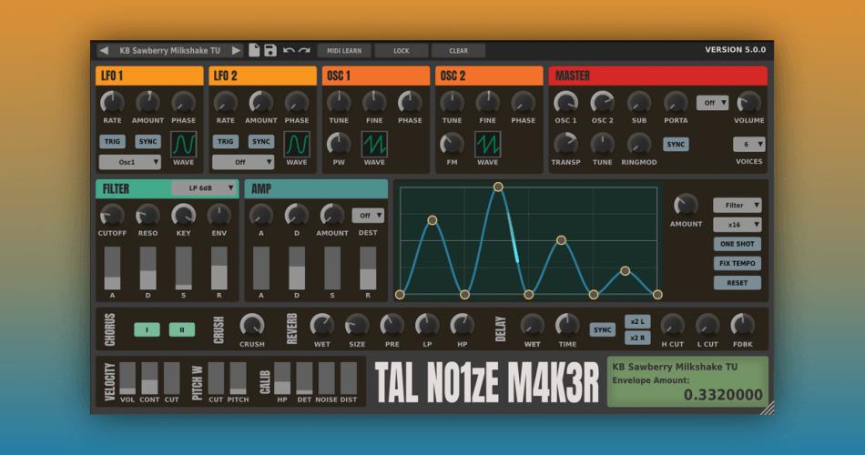 TAL NoizeMaker GUI update