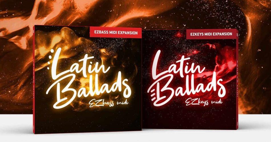 Toontrack Latin Ballads MIDI packs