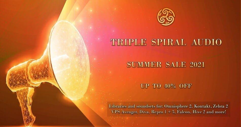 Triple Spiral Audio Summer Sale 2021