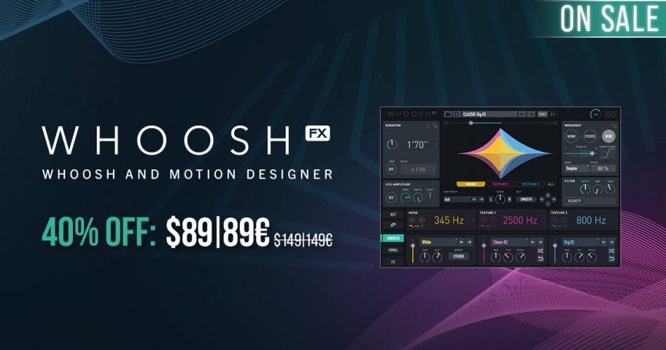UVI Whoosh FX sale