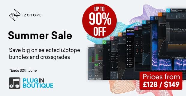 iZotope Summer Sale