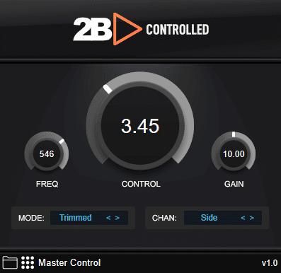 2B Controlled GUI