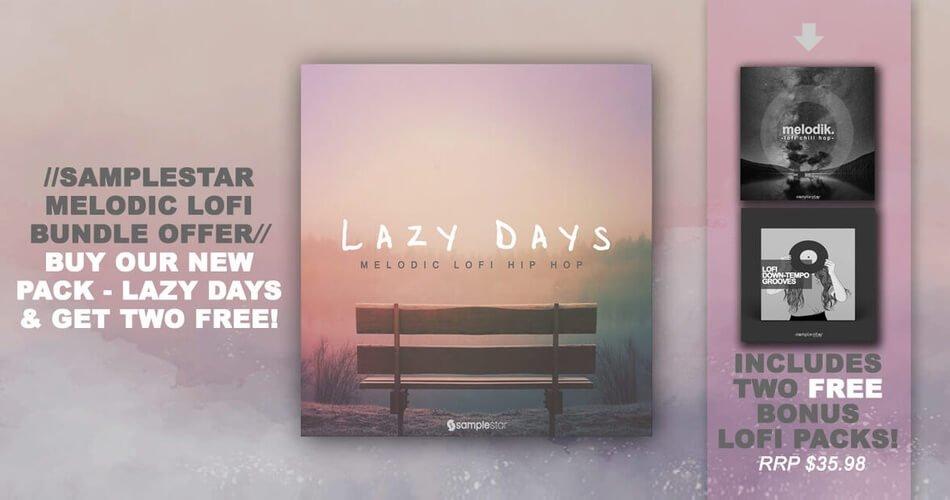 ADSR Samplestar Lazy Days promo