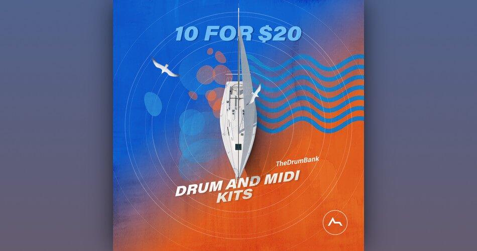 ADSR TheDrumBank Drum and MIDI Kits