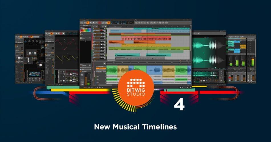 Bitwig Studio 4 new musical timelines