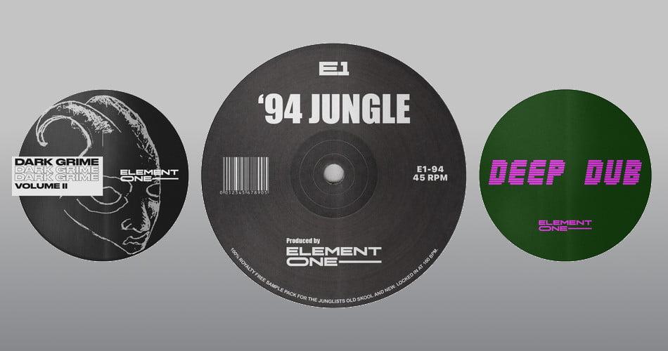 Element One 94 Jungle Deep Dub Dark Grime 2