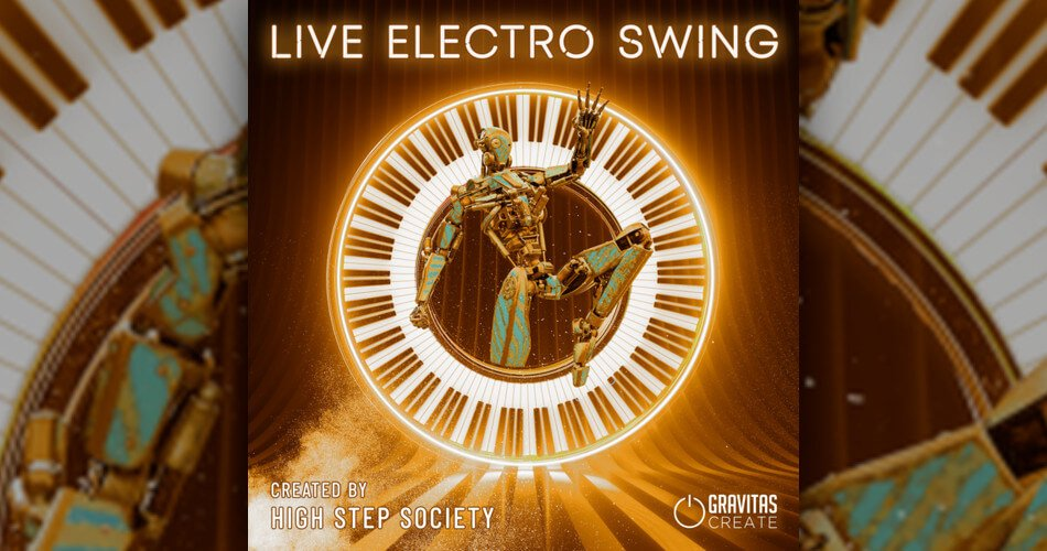 Gravitas High Step Society Live Electro Swing