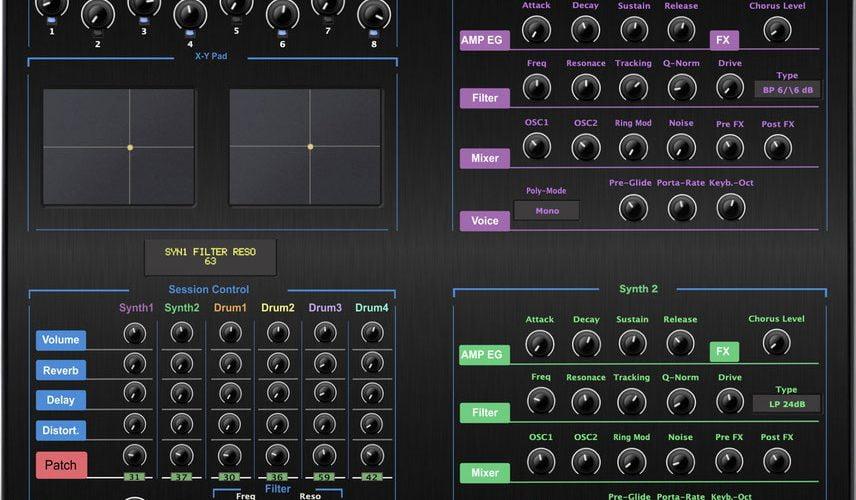Momo Novation Circuit Tracks Editor