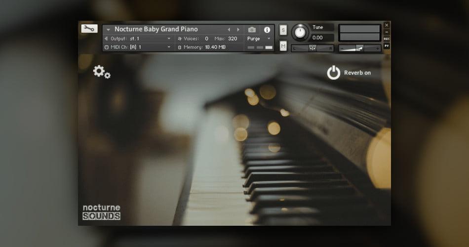 Nocturne Baby Grand Piano