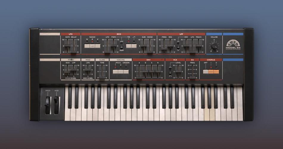 Softube Model 84 synth