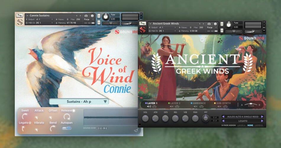 Soundiron Ancient Greek Winds Voice of Wind Connie