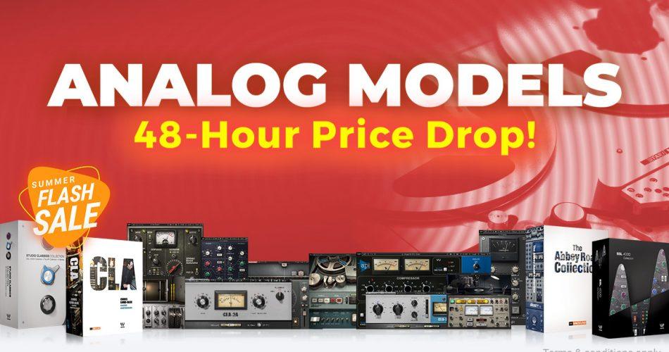 Waves Audio Flash Sale Analog Models