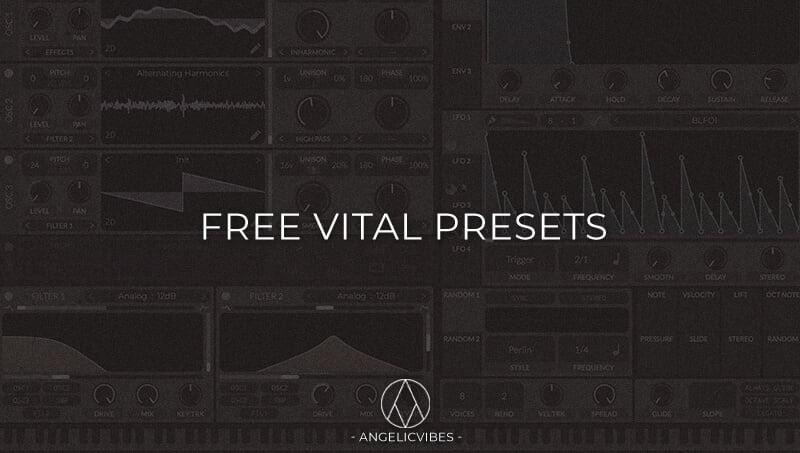 AngelicVibes Free Vital Presets