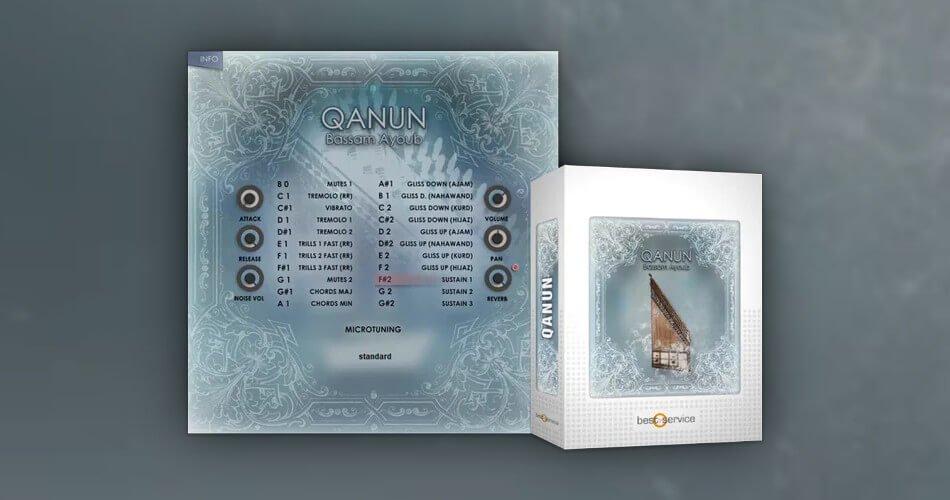 Best Service Qanun psaltery