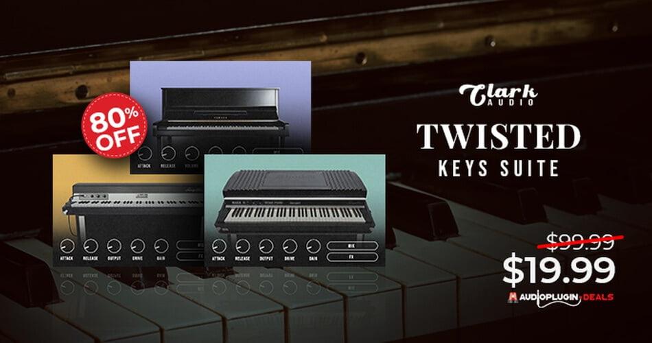 Clark Audio Twisted Keys Suite