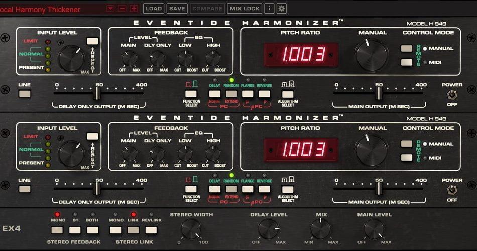 Eventide H949 Harmonizer Dual