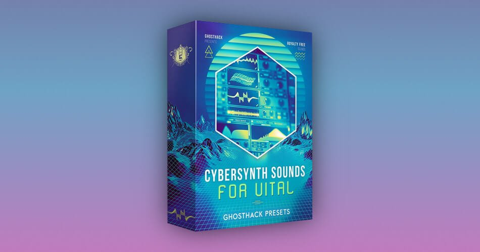 Ghosthack Cybersynth Sounds for Vital