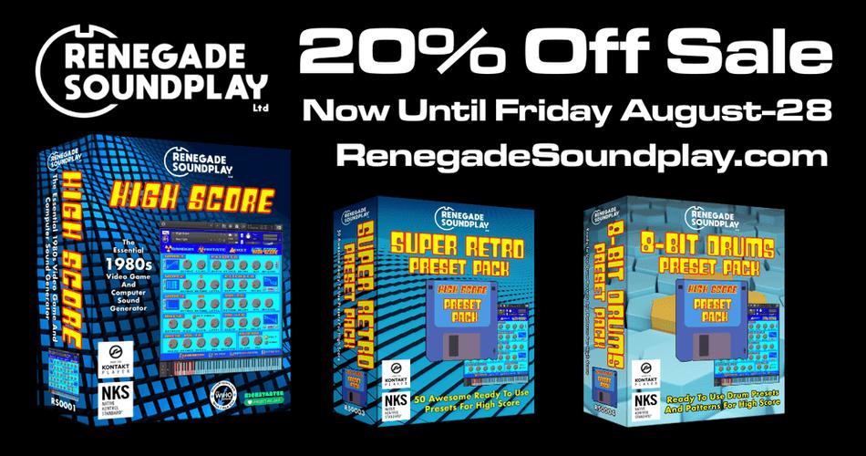 Renegade Soundplay Summer Sale