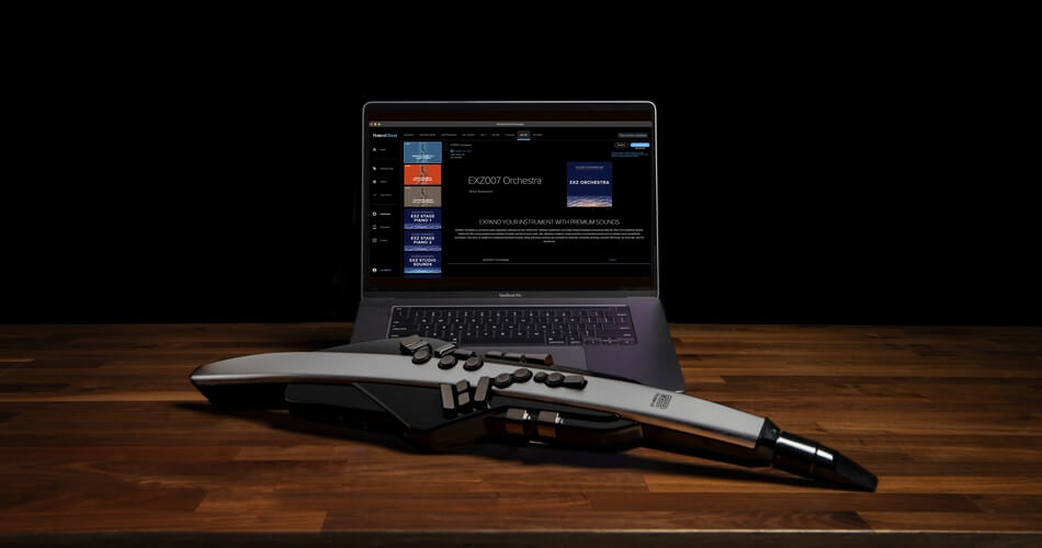 Roland AE 30 with RC Laptop