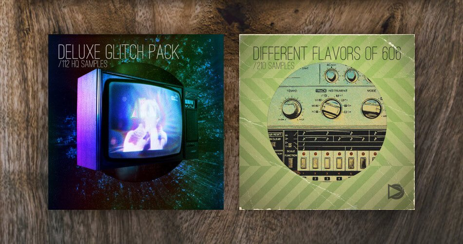 SampleScience Different Flavors of 606 Deluxe Glitch Pack