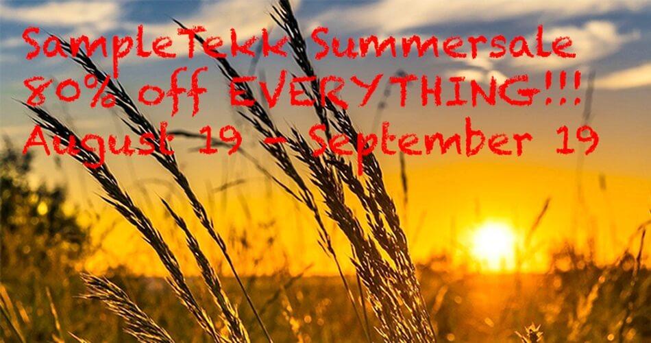 Sampletekk Summer Sale 2021