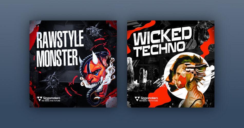 Singomakers Rawstyle Monster Wicked Techno
