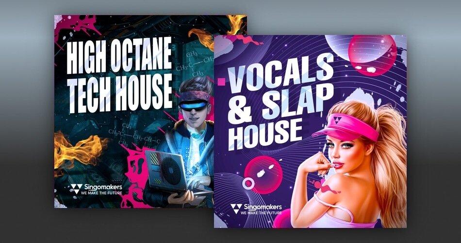 Singomakers Vocals Slap House High Octane Tech House