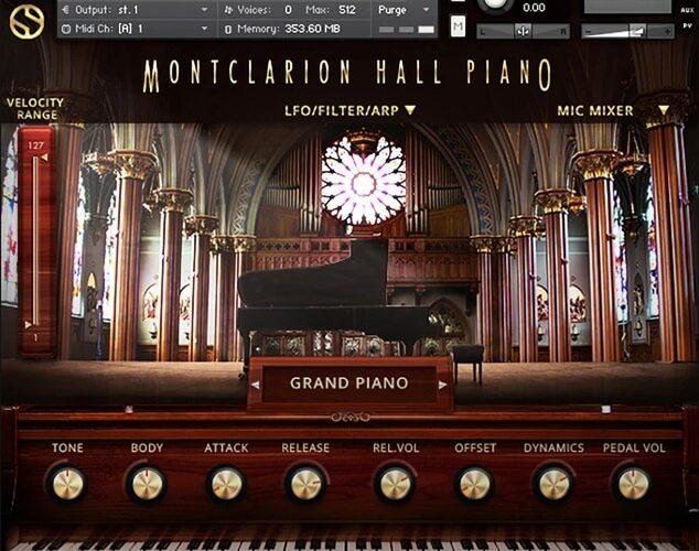 Soundiron Montlcarion Hall Piano