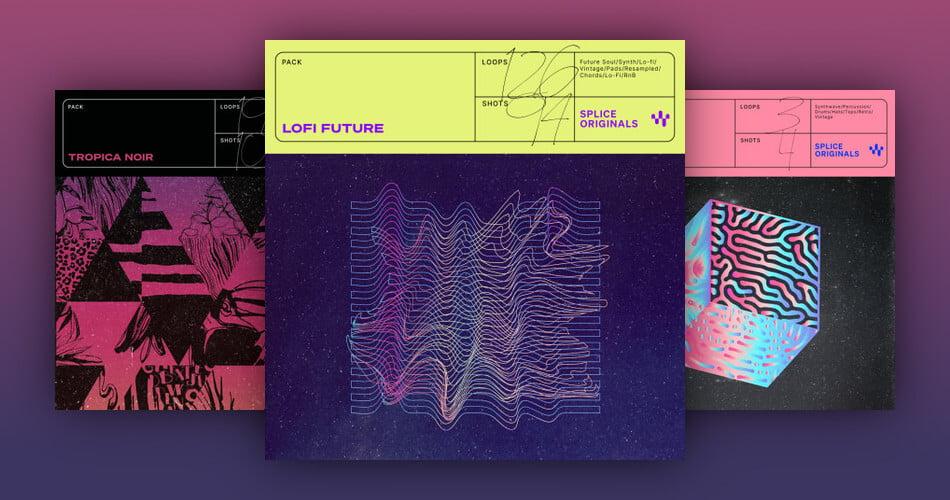 Splice Originals Lofi Future Tropica Noir Night Zone Synthwave