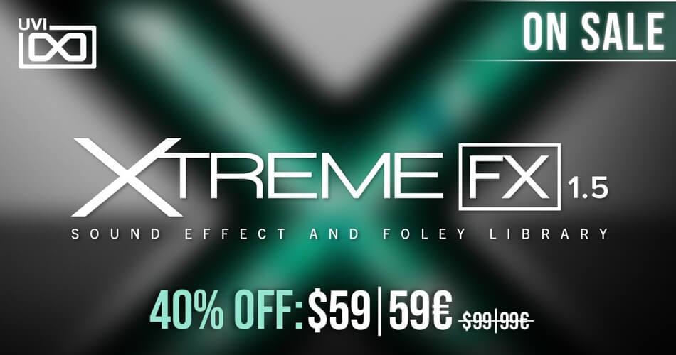 UVI Xtreme FX promo