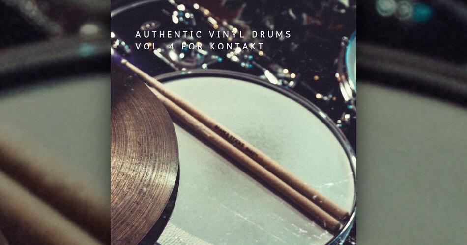 Vintage Drum Samples Authentic Vinyl Drums Vol 4