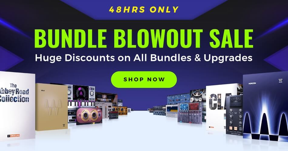 Waves Audio Bundle Blowout Sale