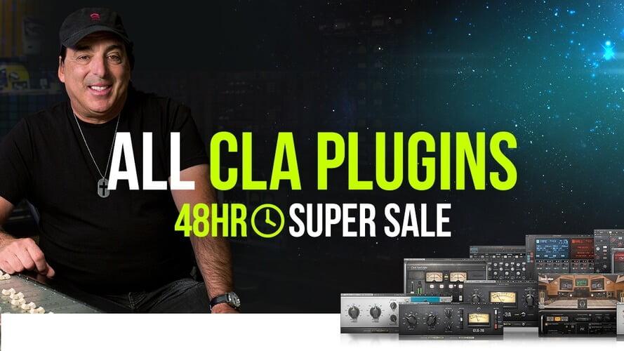 Waves CLA Plugins Sale