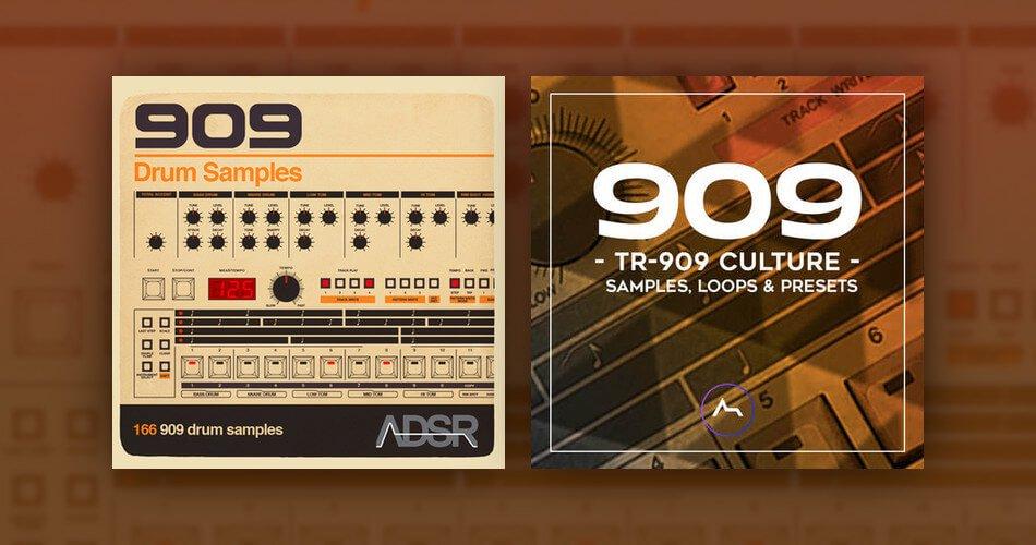ADSR 909 Drum Samples TR 909 Culture