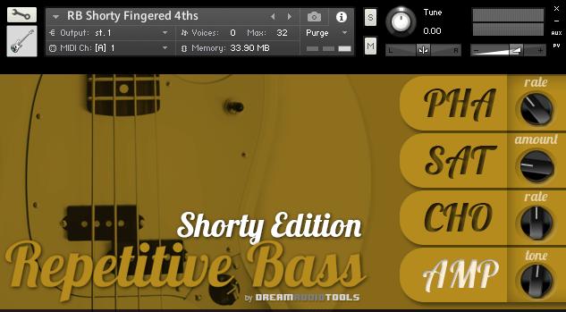 Dream Audio Tools Repetivie Bass Shorty Edition