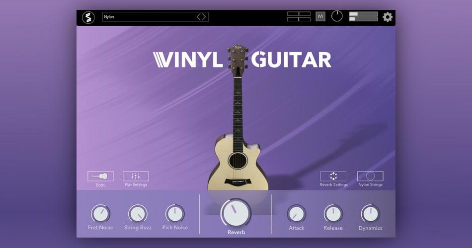 Echo Sound Works Vinyl Guitar