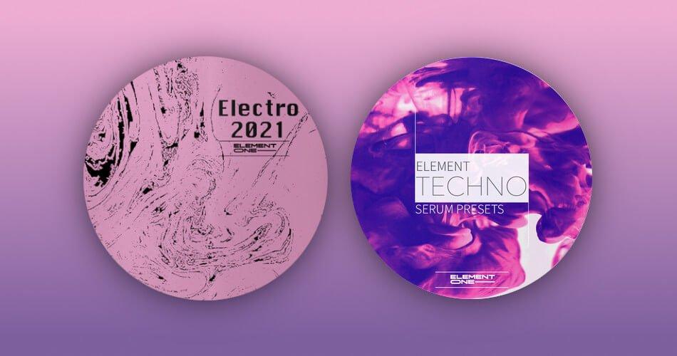 Element One Electro 2021 Element Techno Serum Presets