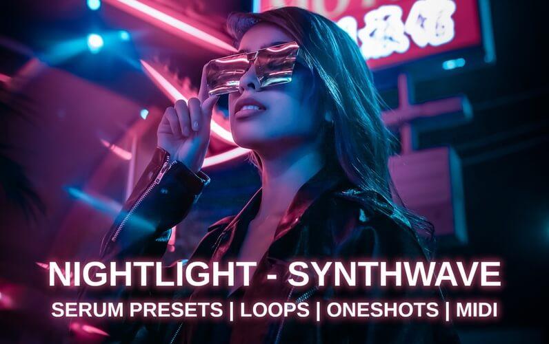 Glitchedtones Nightlight Synthwave