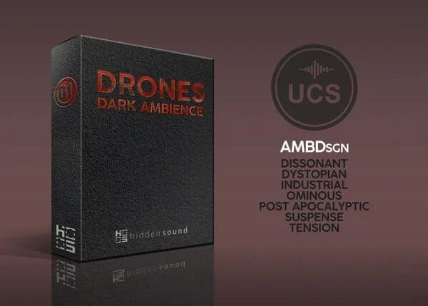 Hidden Sound Drones Dark Ambience