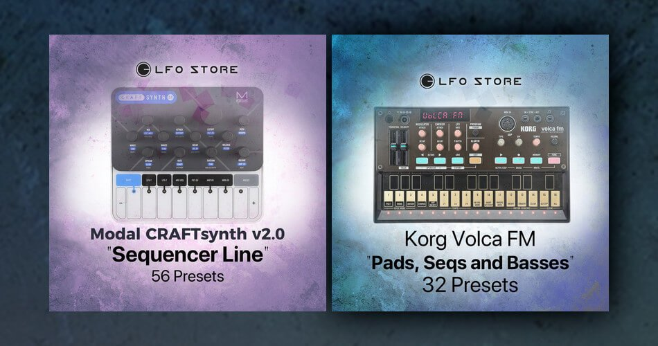 LFO Store Sequencer Line Pads Seqs and Basses