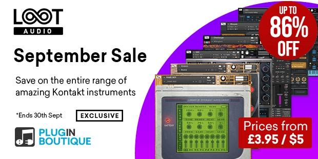 Loot Audio September Sale
