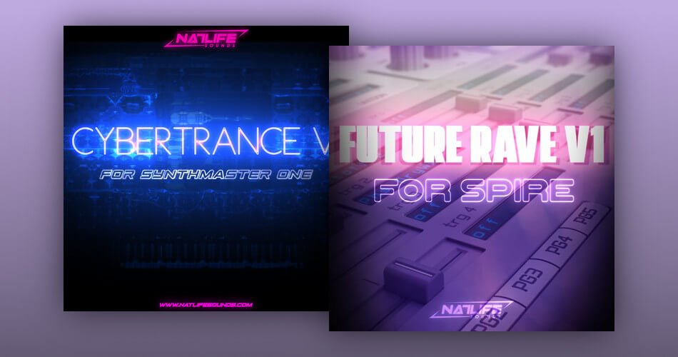 NatLife Cybertrance for Synthmaster One Future Rave for Spire
