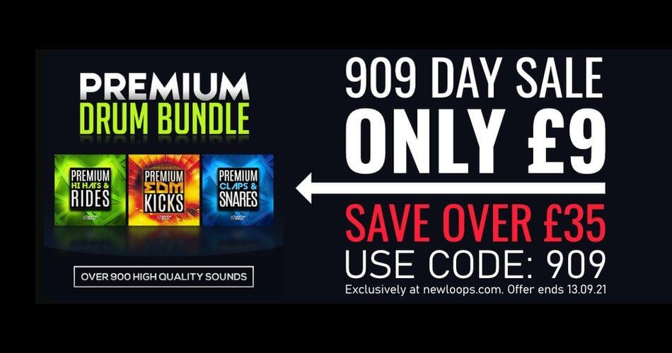 New Loops Premium Drum Bundle 909 Day